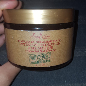 Photo of SheaMoisture Manuka Honey & Mafura Oil Intensive Hydration Masque uploaded by Charnae W.