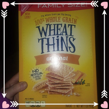 Photo of Nabisco Wheat Thins Original Crackers uploaded by kandiss J.