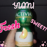 Dannon Activia Peach Probiotic Drink uploaded by kandiss J.