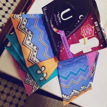 Photo of U by Kotex Cleanwear Ultra Thin Pads Flexible Shape uploaded by crystal g.
