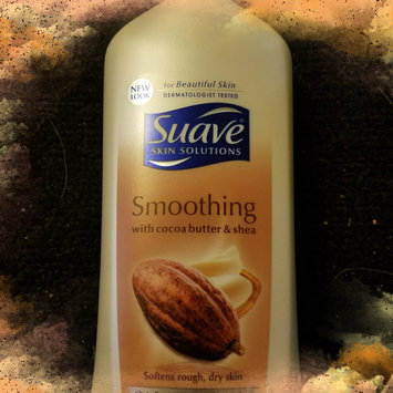 Photo of Suave® Smoothing with Cocoa Butter & Shea Body Lotion uploaded by Emily M.