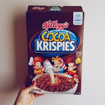 Photo of Kellogg's Cocoa Krispies Cereal uploaded by Amber M.
