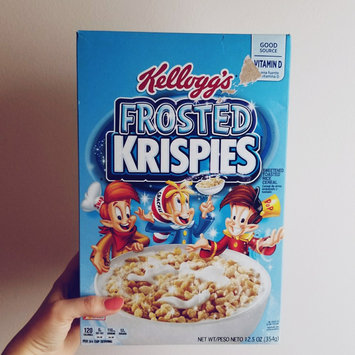 Kellogg's Frosted Rice Krispies Cereal uploaded by Amber M.