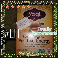 Yogi Tea Sweet Tangerine Positive Energy Reviews