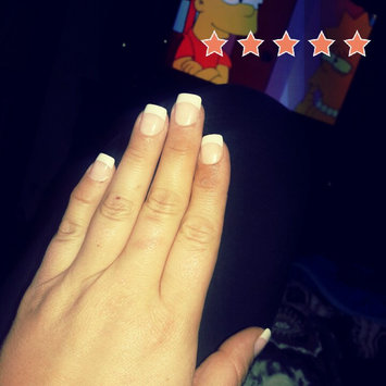 Photo uploaded to Kiss Everlasting French Pearl French Tip Nails Real Short Length - 28 CT by Emily M.