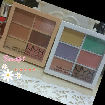 NYX Color Correcting Concealer Palette uploaded by Butheina R.
