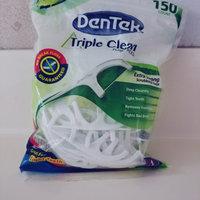 DenTek® Triple Clean Fresh Mint Floss Picks uploaded by Karla F.