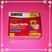 up & up Acetaminophen Junior Strength Grape Meltaway Tablets 24-pk. uploaded by Kristie A.