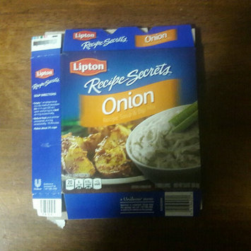 Photo of Lipton® Recipe Secrets Onion Recipe Soup & Dip Mix uploaded by Tammy M.