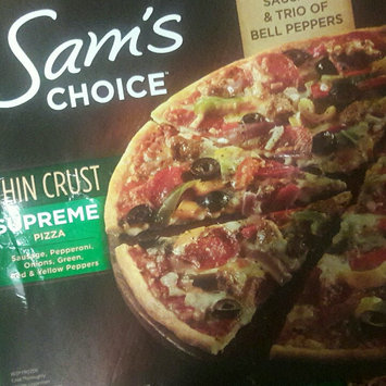 Photo of Sam's Choice Supreme Thin Crust Pizza, 16.5 oz uploaded by Tammy M.
