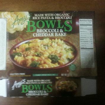 Photo of Amy's Kitchen Amy's Bowls Broccoli & Cheddar Bake Meal 9.5 oz uploaded by Tammy M.