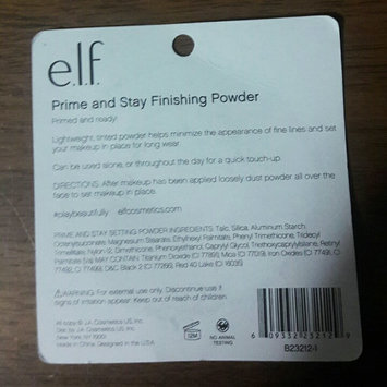 Photo of e.l.f. Cosmetics Prime & Stay Finishing Powder uploaded by Tammy M.