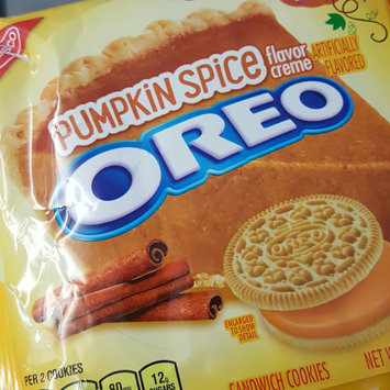 Photo of Nabisco Oreo Pumpkin Spice Creme Sandwich Cookies uploaded by Hannah C.