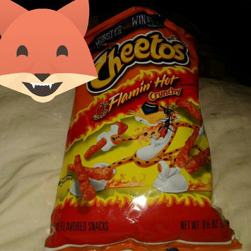 CHEETOS® Crunchy Flamin' Hot® Cheese Flavored Snacks uploaded by Amy E.