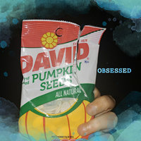 David All Natural Roasted & Salted Pumpkin Seeds uploaded by Angela C.