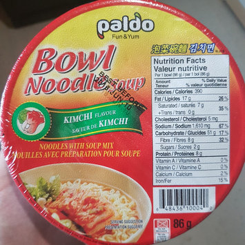 Photo of Paldo Kimchi Noodle Soup, 3.03-Ounce Cup (Pack of 12) uploaded by Amanda C.