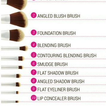 Photo of BH Cosmetics Eco Luxe 10 Piece Brush Set uploaded by Mÿ R.