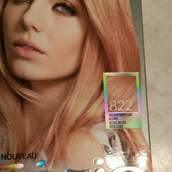 Photo of Feria Multi-Faceted Shimmering Colour Fashion Metallics 822 Medium Iridescent Blonde Hair Color 1 kt Box uploaded by Darlene F.