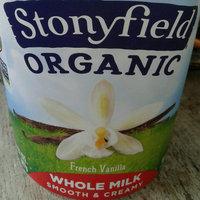 Stonyfield Organic™ Whole Milk French Vanilla Smooth & Creamy  Yogurt 32 oz. Tub uploaded by Amanda A.