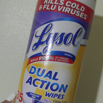 Photo of Lysol Dual Action Disinfecting Wipes uploaded by Idrialis C.