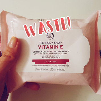 The Body Shop Vitamin E Gentle Facial Cleansing Wipes uploaded by Lucy A.