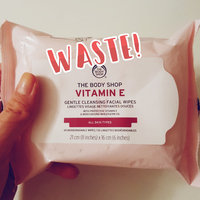 THE BODY SHOP® Vitamin E Gentle Facial Cleansing Wipes uploaded by Lucy A.