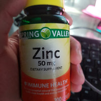 Spring Valley Zinc Supplement uploaded by Will A.