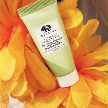 Photo of Origins A Perfect World SPF 25 Age-Defense Moisturizer with White Tea uploaded by Angela G.