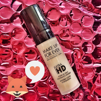 MAKE UP FOR EVER Ultra HD Foundation uploaded by Tammy L.