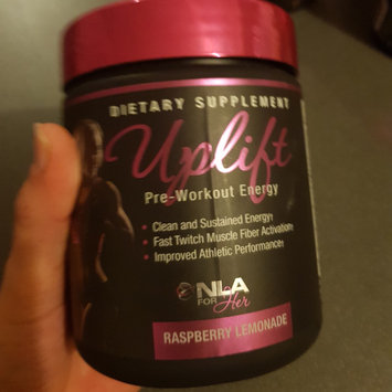 NLA for Her Uplift Pre-Workout Energy Raspberry Lemonade uploaded by Lauren S.