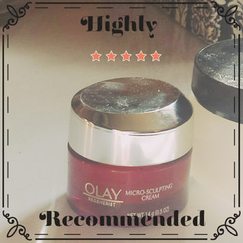 Photo of Olay Regenerist Micro-Sculpting Cream uploaded by Carrie A.