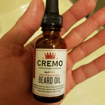 Photo of Cremo Unscented Revitalizing Beard Oil - 1 oz uploaded by Will A.