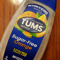 Tums Extra Strength 750 Sugar Free Orange Cream Antacid/Calcium Supplement Chewable Tablets - 80 CT uploaded by Will A.
