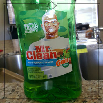 Photo of Mr Clean with Gain Original Fresh Scent Multi Surface Liquid 40 Fl Oz uploaded by Bethany L.