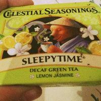 Celestial Seasonings® Sleepy Time Decaf Tea Lemon Jasmine uploaded by Amber W.