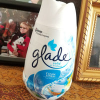 Glade Clean Linen Solid Air Freshener uploaded by Tish C.