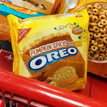 Photo of Nabisco Oreo Pumpkin Spice Creme Sandwich Cookies uploaded by Tish C.