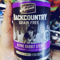 Merrick Backcountry Stew Alpine Rabbit 12.7 oz Can uploaded by Auggie B.