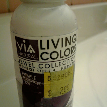 Photo of Via Living Color Hair Collection Color - #118 Purple Passion 4 oz. (Pack of 12) uploaded by Michelle C.
