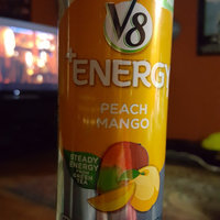 V8® V-Fusion + Energy Peach Mango Flavored Vegetable & Fruit Juice uploaded by Katie L.