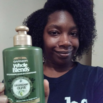 Photo of Garnier Whole Blends™ Replenishing Leave-in Conditioner with Virgin Pressed Olive Oil & Olive Leaf Extracts uploaded by Candace B.
