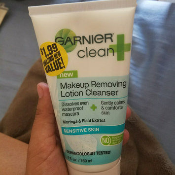 Photo of Garnier Skinactive Clean + Makeup Removing Lotion Cleanser uploaded by Marissa J.