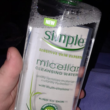 Photo of Simple® Micellar Water Cleanser uploaded by Alice C.