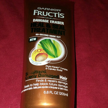 Photo of Garnier Fructis Damage Eraser Heal & Seal Treatment uploaded by Chelsea C.