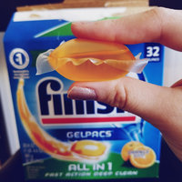 Finish Gelpacs Automatic Dishwasher Detergent - 32 CT uploaded by Amber M.