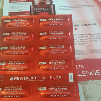 Photo of L'Oréal Paris RevitaLift® Triple Power™ Intensive Anti-Aging Day Cream Moisturizer uploaded by Ramonita R.