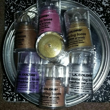 Photo of L.A. Colors Shimmering Loose Eye Shadow 111 Snow White uploaded by Ebony O.