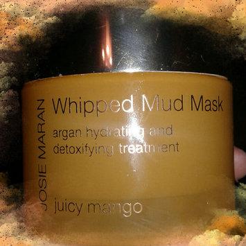 Photo of Josie Maran Whipped Mud Mask Argan Hydrating and Detoxifying Treatment Juicy Mango 1.7 oz/ 52 g uploaded by Seirria M.