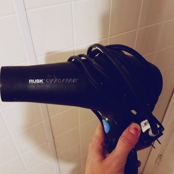 Photo of Rusk Speed Freak Professional Ceramic Tourmaline Hair Dryer, 2000 Watts uploaded by Angela G.