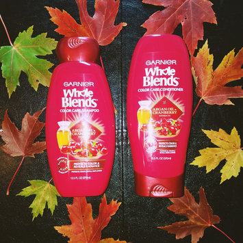 Photo of Garnier Whole Blends Argan Oil & Cranberry Extracts Color Care Shampoo uploaded by Rachael Z.